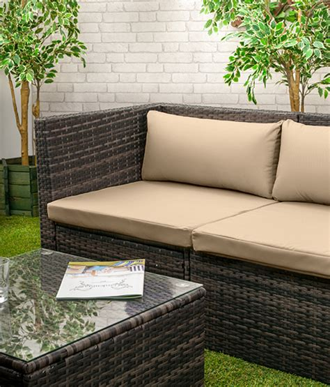 Replacement Cushions For Rattan Sofa by Rattan Furniture Replacement Cushions Sofa Water Resistant