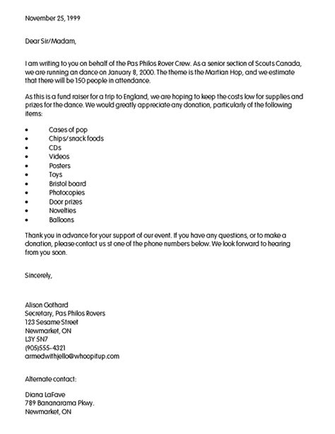 Donation Request Letter For Door Prizes How To Request Eagle Scout Letter Invitations Ideas