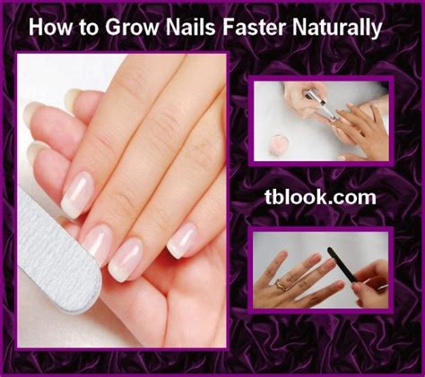 how to grow nails faster naturally at home in 5 minutes
