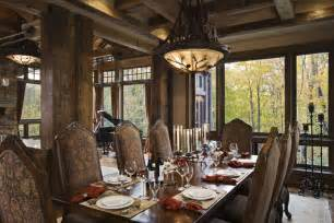 rustic dining room ideas rustic house design in western style ontario residence