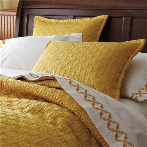 mustard yellow comforter company c avery quilt collection bedroom pinterest