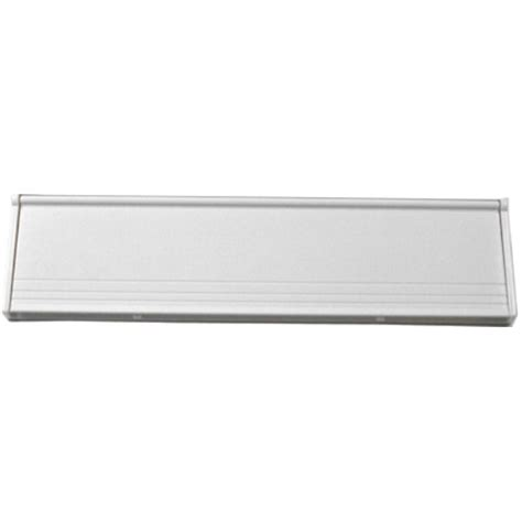 white inner letter plate cover from the hardware emporium by select