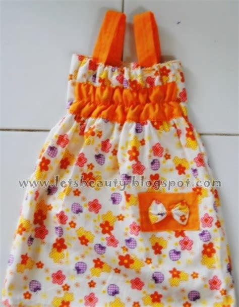 tutorial baju rajut anak tutorial dress untuk anak