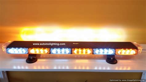 led warning light bars 30 quot sky s slim linear warning light bar best seller