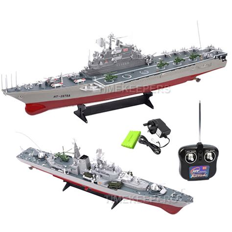 radio controlled boats on sale 1 275 aircraft carrier battleship destroyer rc radio