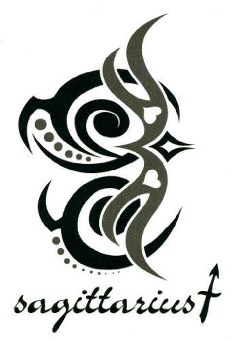 tribal zodiac tattoos sagittarius tribal sagittarius zodiac design tattooshunt