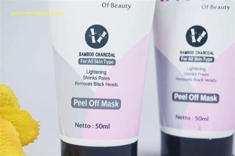 Masker Peel Arang Bambu Lh Care review masker peel arang bambu lh care untuk