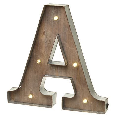 Light Up Letters For Wall by Wall Mounted Vintage Light Up Metal Letter A Illumination