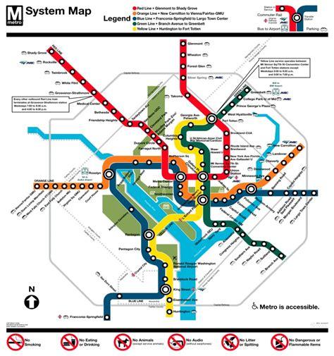 washington dc metro map metro system dc metro plus magazine
