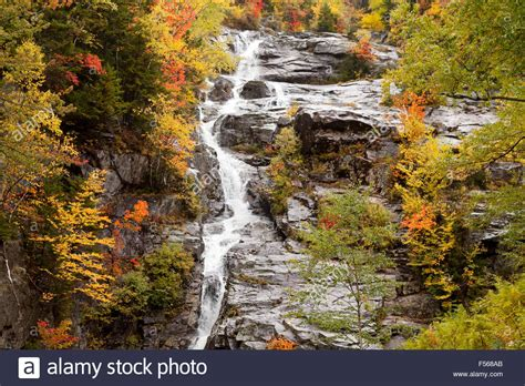silver cascade nh new england waterfalls silver cascade a waterfall in crawford notch state park