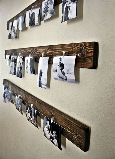 photo display ideas 40 unique wall photo display ideas for you