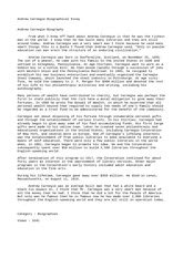 Andrew Carnegie Dbq Essay by Andrew Carnegie Dbq Essay Augustak12 X Fc2