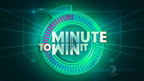 Tv Shows To Win Money - minute to win it australian game shows wiki fandom powered by wikia