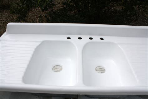 Porcelain Kitchen Sink With Drainboard Porcelain Bowl Kitchen Sink With Drainboard Wow