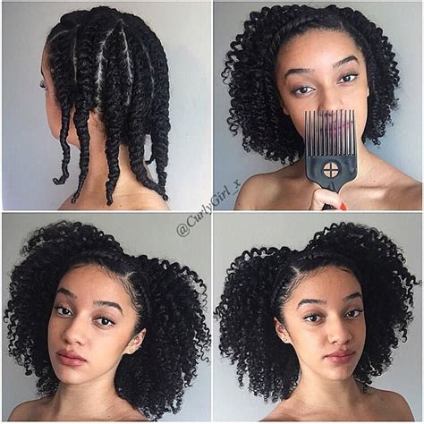 hairstyles for hair twist out protective hair styles on instagram by