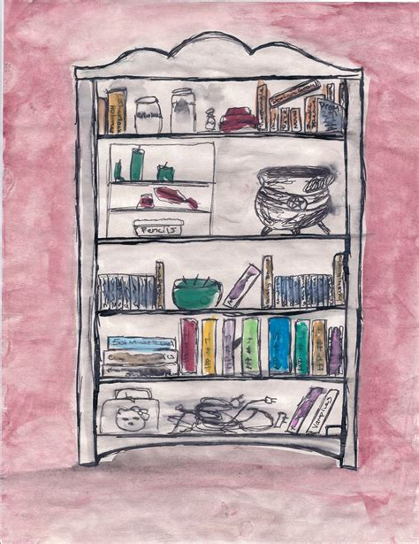 1 Drawing A Day by Day 1 Draw Your Bookshelf One Hundred Fifty Adventures