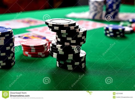 stack up the chips the poker room is open at maryland black stacks of poker chips stock photo image 52376580