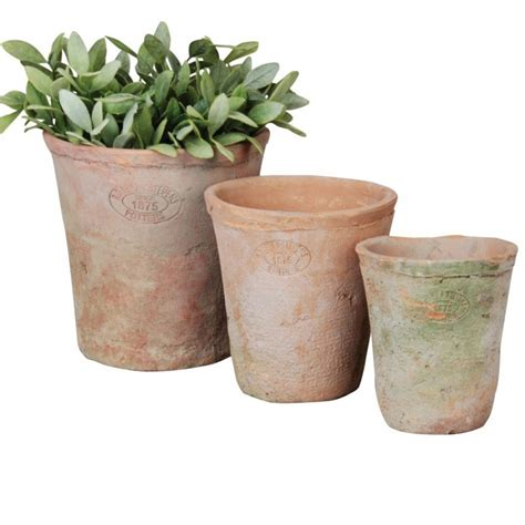 Terracotta Plant Pots Terracotta Plant Pots And Saucers Set