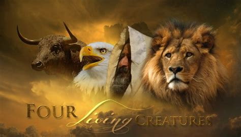 god s revelations of animals and books theological views the four living creatures throughout