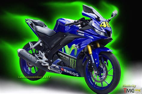 All New R15 Vva 155 Gp Movistar yamaha r15 v 3 0 dresses up in movistar yamaha motogp