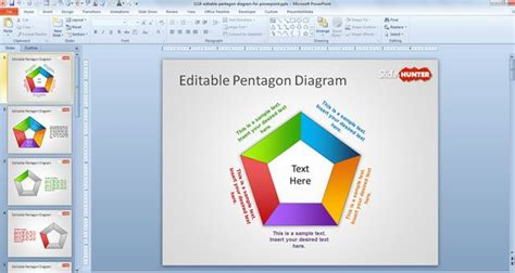 Free Editable Pentagon Diagram For Powerpoint Free Powerpoint Models Free