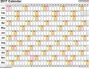 Linear Calendar Template by Calendar 2017 50 Important Calendar Templates Of 2017