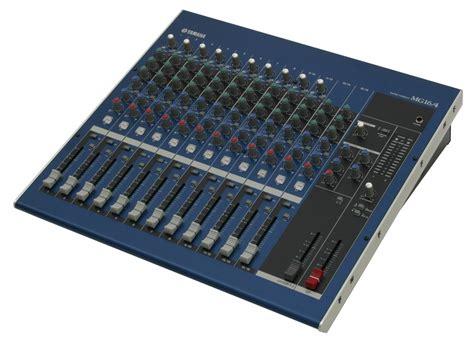 Mixer Yamaha Mg 16 yamaha mg16 4 mixer