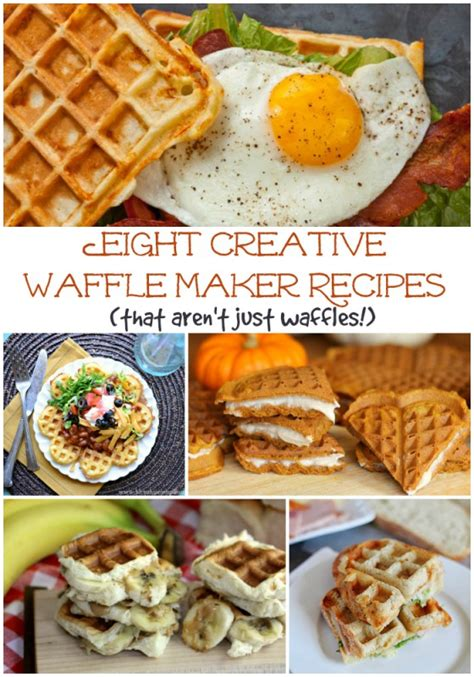 8 creative waffle maker recipes that aren t just waffles the weary chef