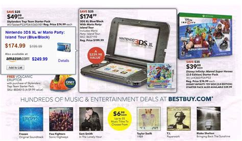 best 3ds xl deals best nintendo 3ds black friday 2014 deals
