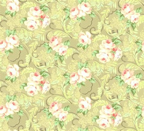Taupe Quilting Fabric by Cotton Quilt Fabric Downton Lace Large Floral Taupe
