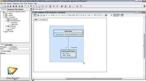 diagramme de classe de conception tutoriel mod 233 lisation uml travailler avec le diagramme