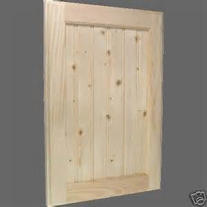 Custom Cabinet Doors Unfinished Custom Unfinished Beadboard Pine Kitchen Cabinet Doors Ebay