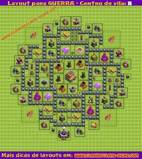 layout cv 5 guerra layouts de guerra para cv8 clash of clans dicas gemas