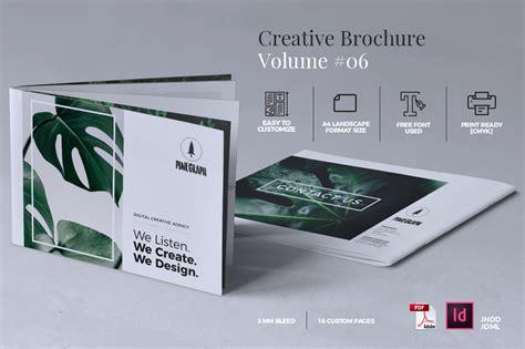 creative brochure templates free creative brochure template volume 06