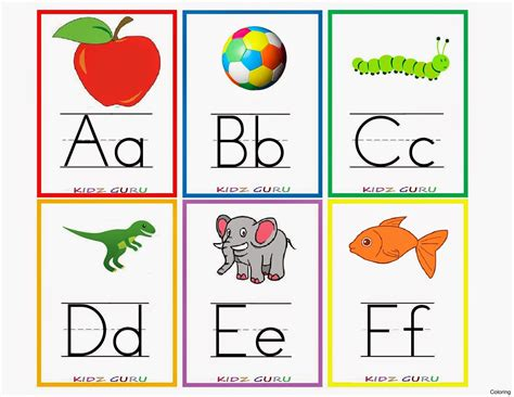 printable alphabet flash cards australia k1 printable alphabet flash cards coloring with animals