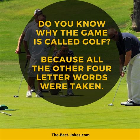 golf jokes funny images   liners   game