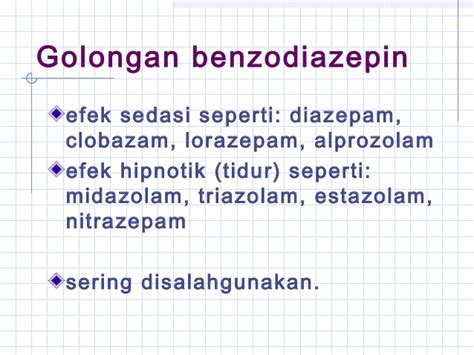 Obat Tidur Diazepam 25 jenis jenis napza