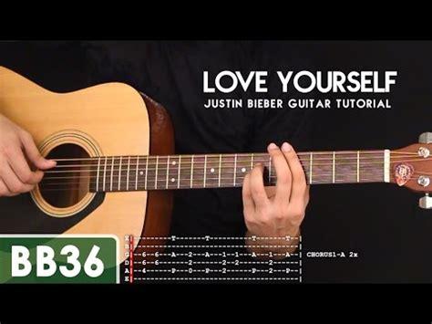 love yourself fingerstyle tutorial gareth evans love yourself chords tutorial guitarra guitar funnydog tv