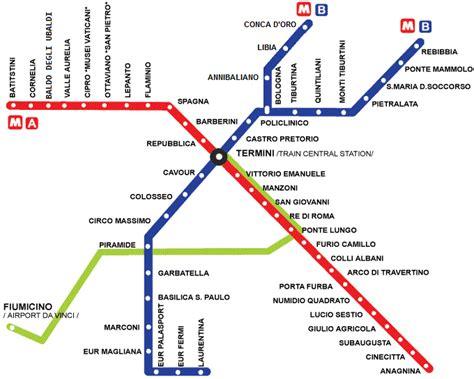 rome metro map rome info gt rome metro map