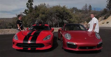 porsche 911 viper porsche 911 gt2 rs vs dodge viper 2016 chevrolet corvette