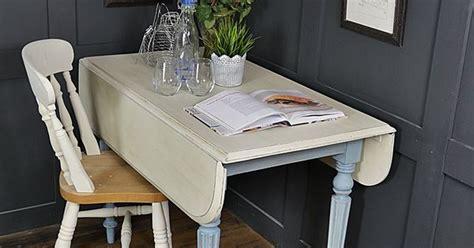 space saving drop leaf pembroke table   perfect