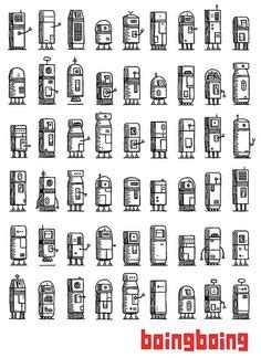 pattern paper montreal small robots packing paper by valle montreal quebec