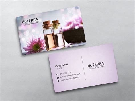doterra business card template doterra business cards free shipping