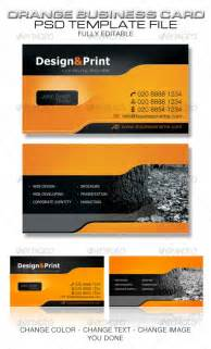 business card design templates cardview net business card visit card design inspiration gallery 187 orange business card