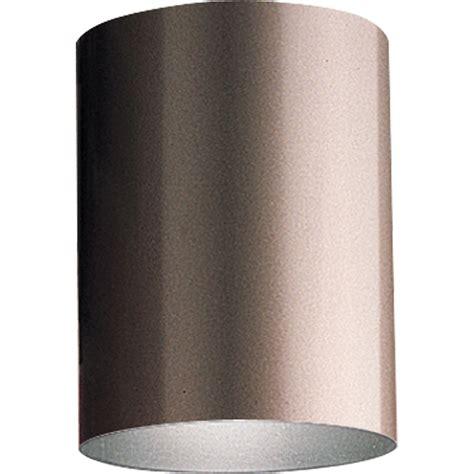 Cylinder Light Fixtures Progress Lighting P5774 20 Cylinder Outdoor Flush Mount Ceiling Fixture