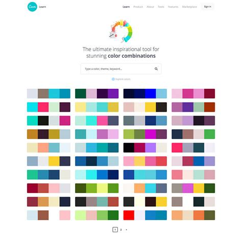 Canva Color Combination | 色の基本と使い方をまとめた配色デザイン見本帳 canva colors photoshopvip