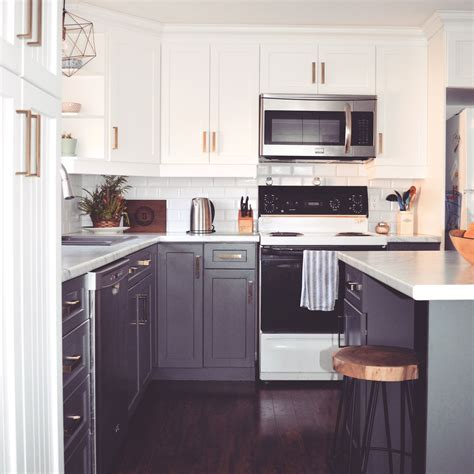 kendall charcoal kitchen cabinets kitchen renovation top cabinet colour pure white
