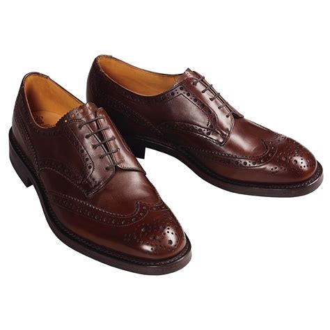 wingtip shoes tricker s handmade wingtip derby shoes for 18891