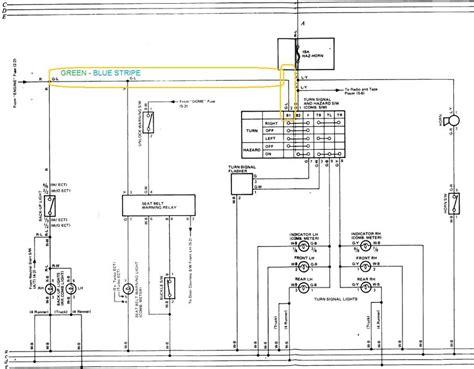 86 toyota wiring diagram 1988 toyota wiring
