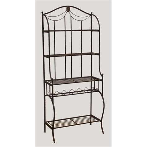 Bakers Rack With Storage by Hillsdale Camelot W Wine Storage Black Bakers Rack Ebay
